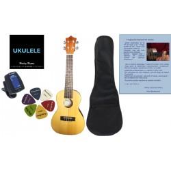 Lekcja gry na gitarze klasycznej, akustycznej, basowej lub ukulele - 60 min.