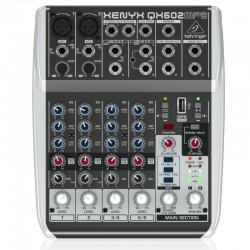 Mikser audio XENYX QX602MP3...